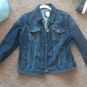 Laurn conrad jean jacket